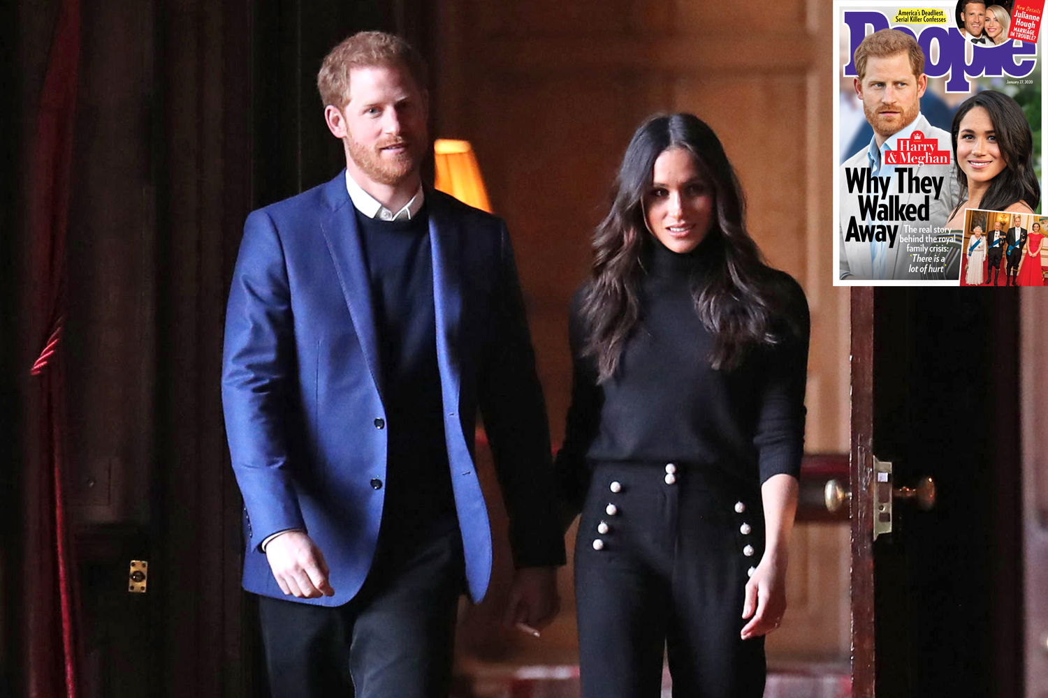 Prince Harry Meghan Markle People Magazine Cover