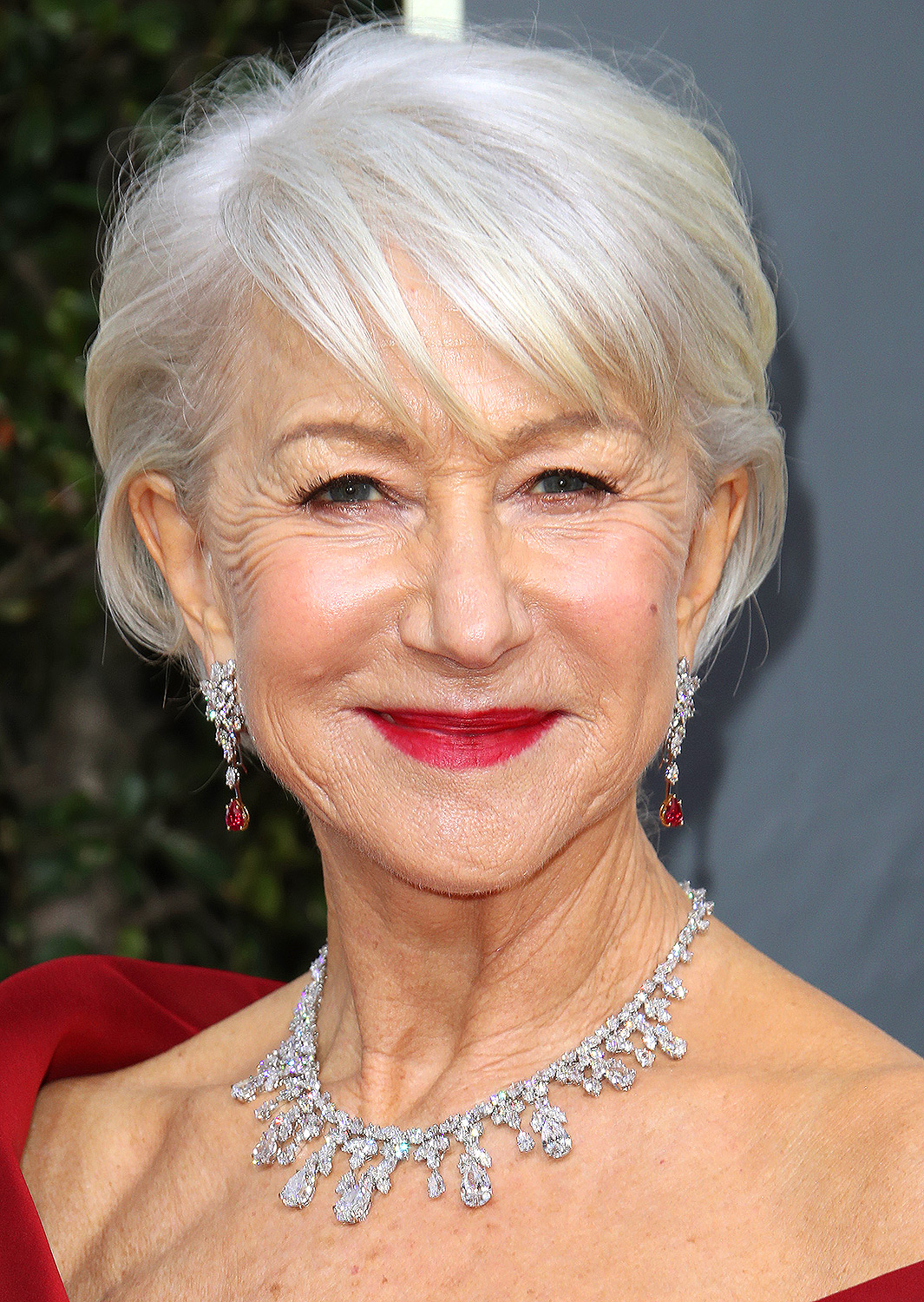 Helen Mirren's Matchy Makeup