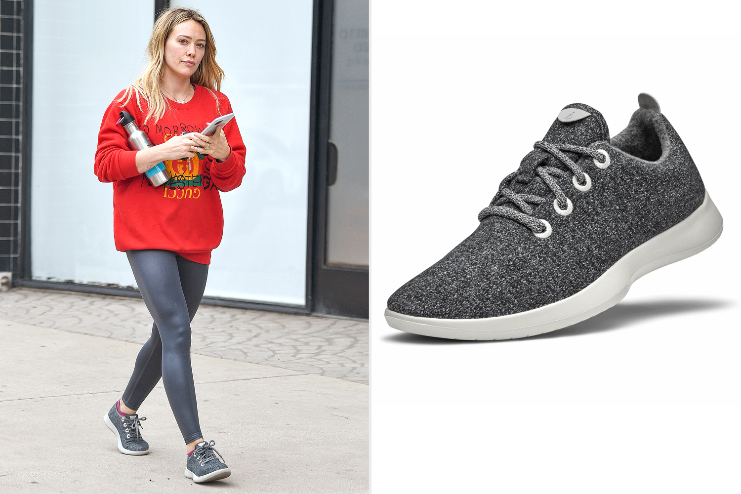 Hilary Duff ; allbirds