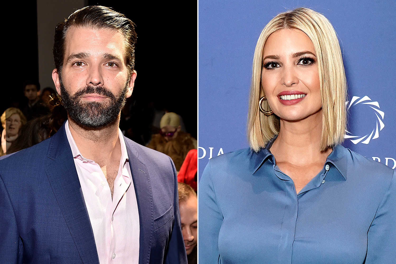 Donald Trump Jr. and Ivanka Trump