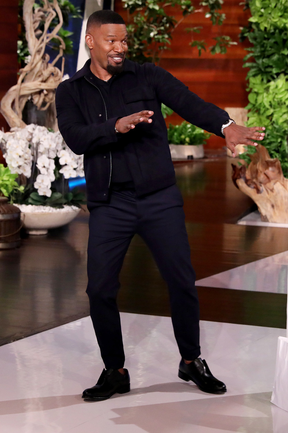 "The multi-talented Jamie Foxx makes an appearance on ""The Ellen DeGeneres Show"" airing Thursday, January 9th"