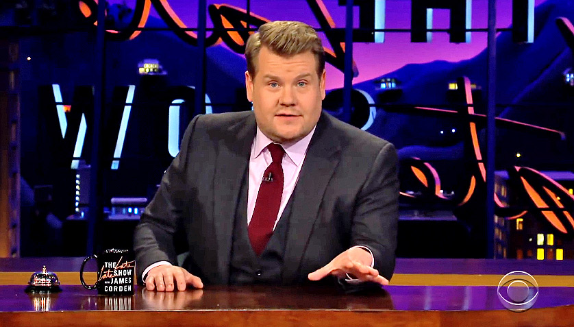 James Corden Comes Clean About Driving Carpool