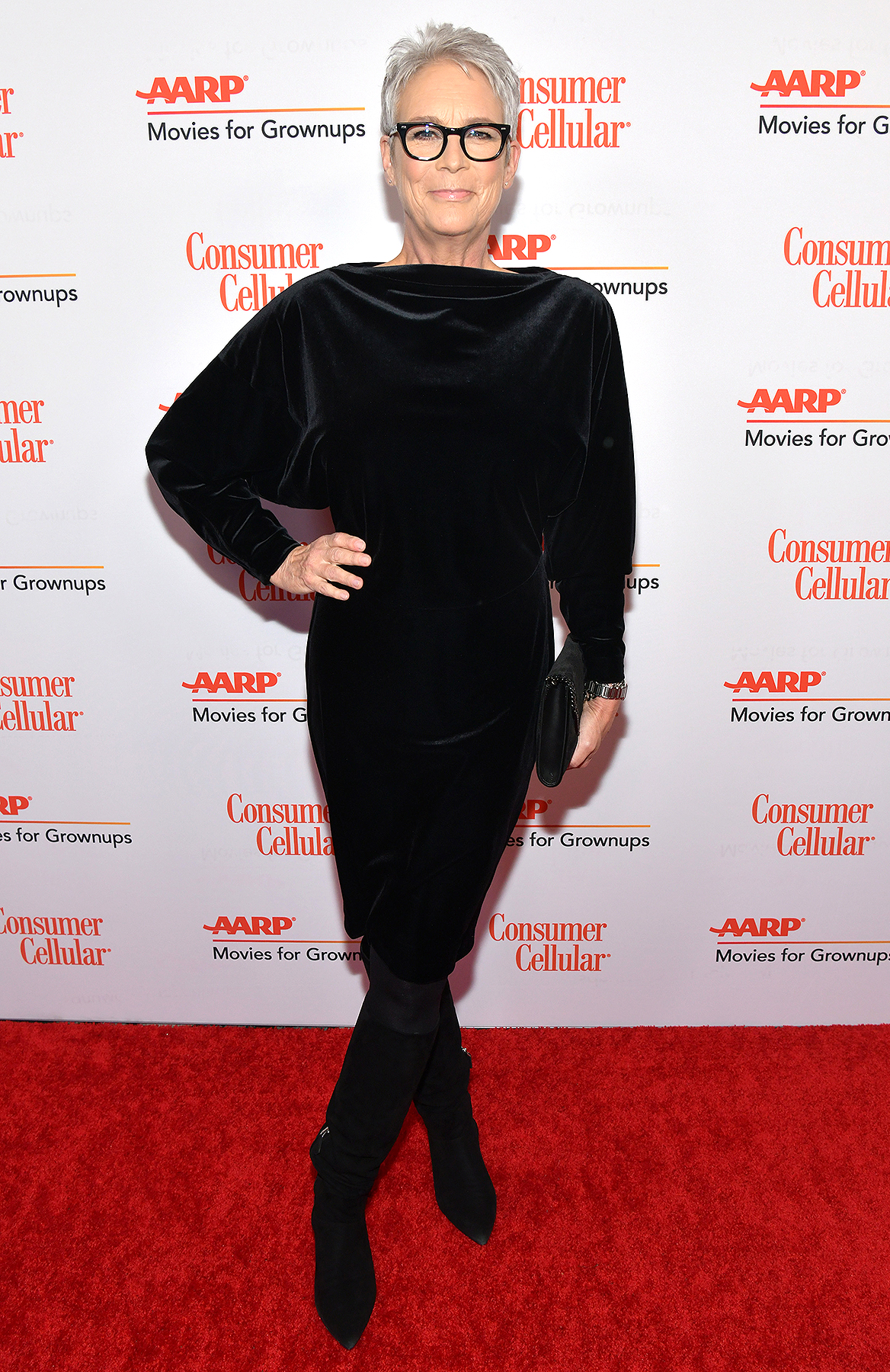 Jamie Lee Curtis attends AARP The Magazine's 19th Annual Movies For Grownups Awards at Beverly Wilshire, A Four Seasons Hotel on January 11, 2020 in Beverly Hills, California.