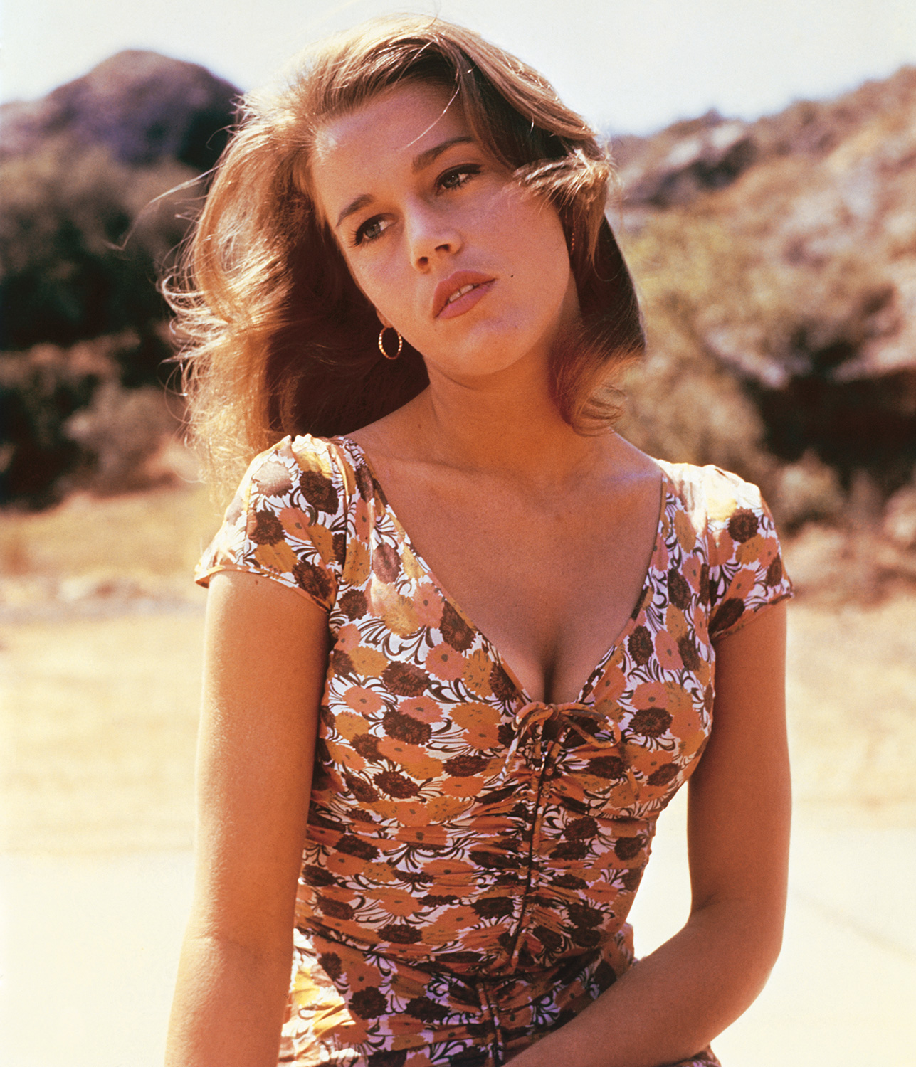 """Jane Fonda and star of 1961 movie """"Walk on the Wild Side,"""" directed by Edward Dmytryk"""