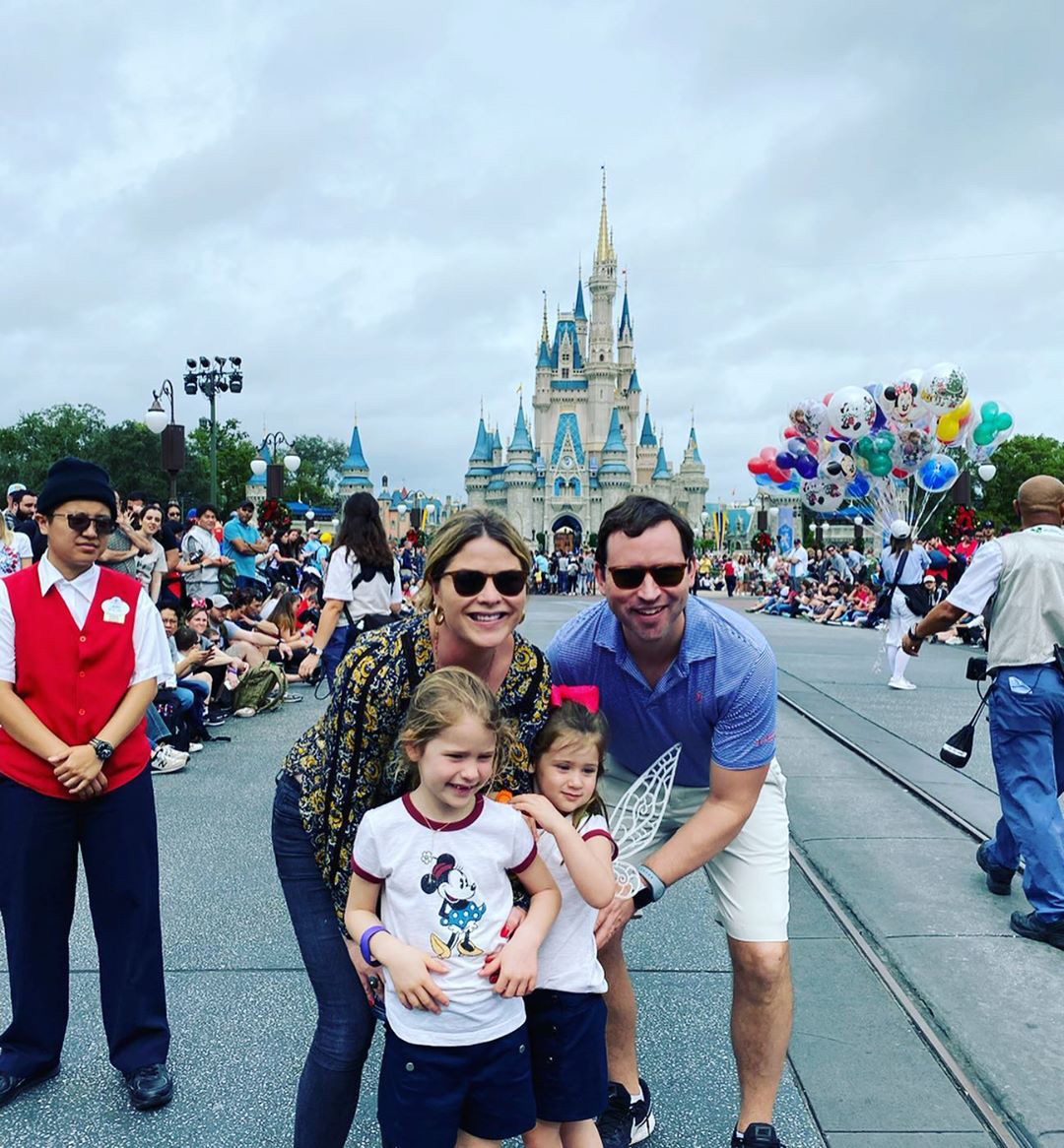 Jenna Bush Hager Disneyworld Vacation