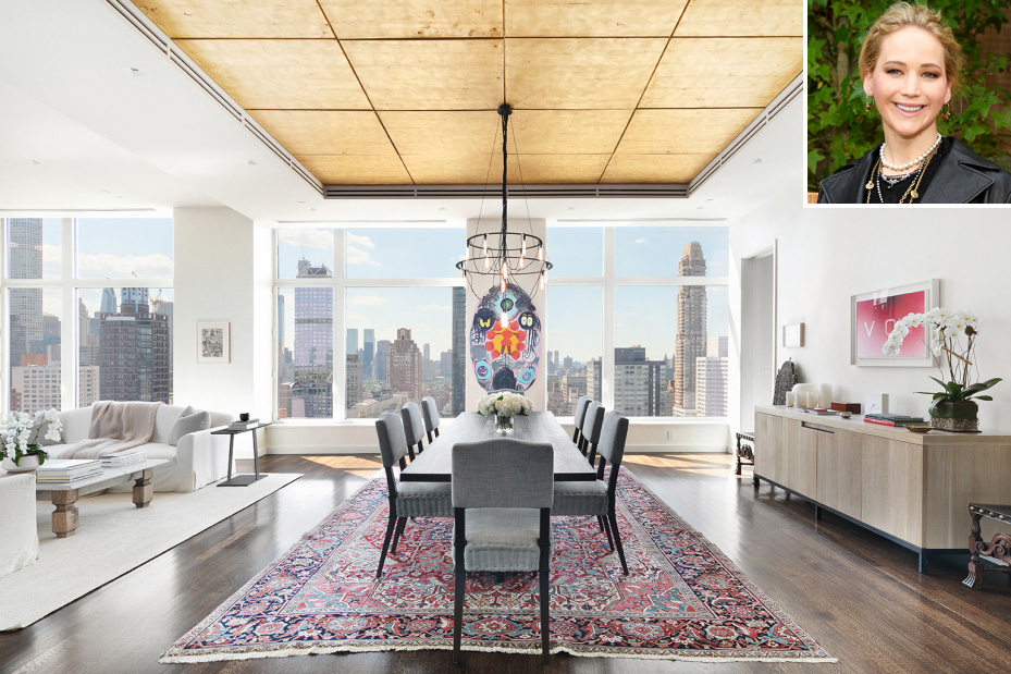 Jennifer Lawrence's New York Penthouse Is for Sale for $12M