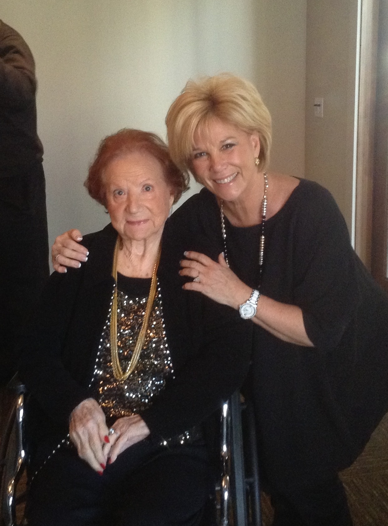 Joan Lunden and her mother