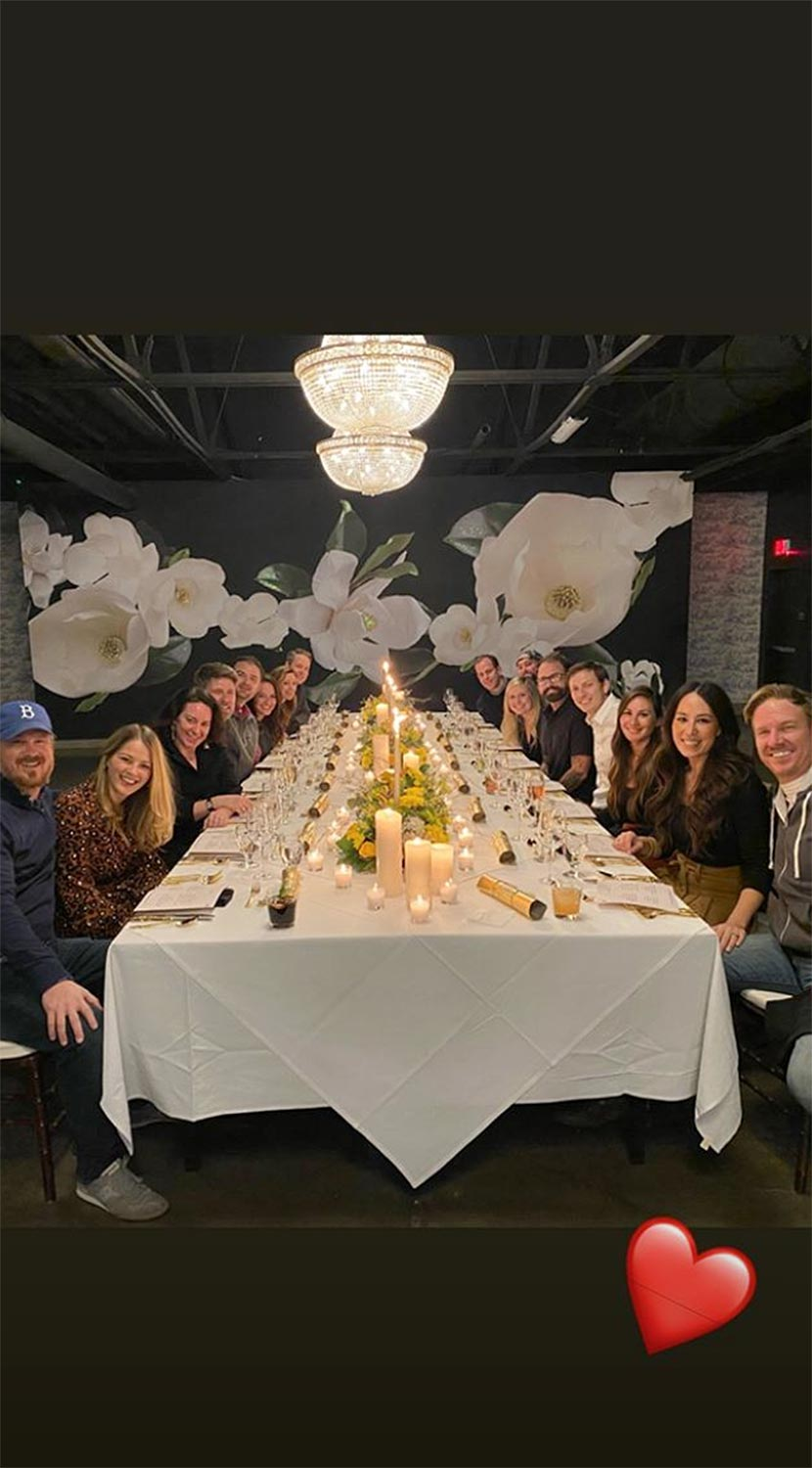 joanna gaines new year's