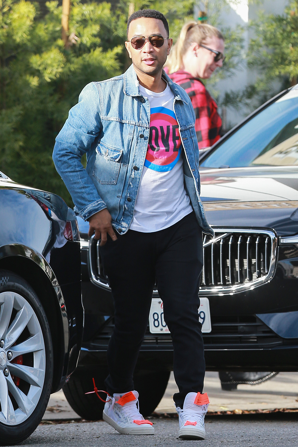 John Legend is spotted out shopping in Los Angeles