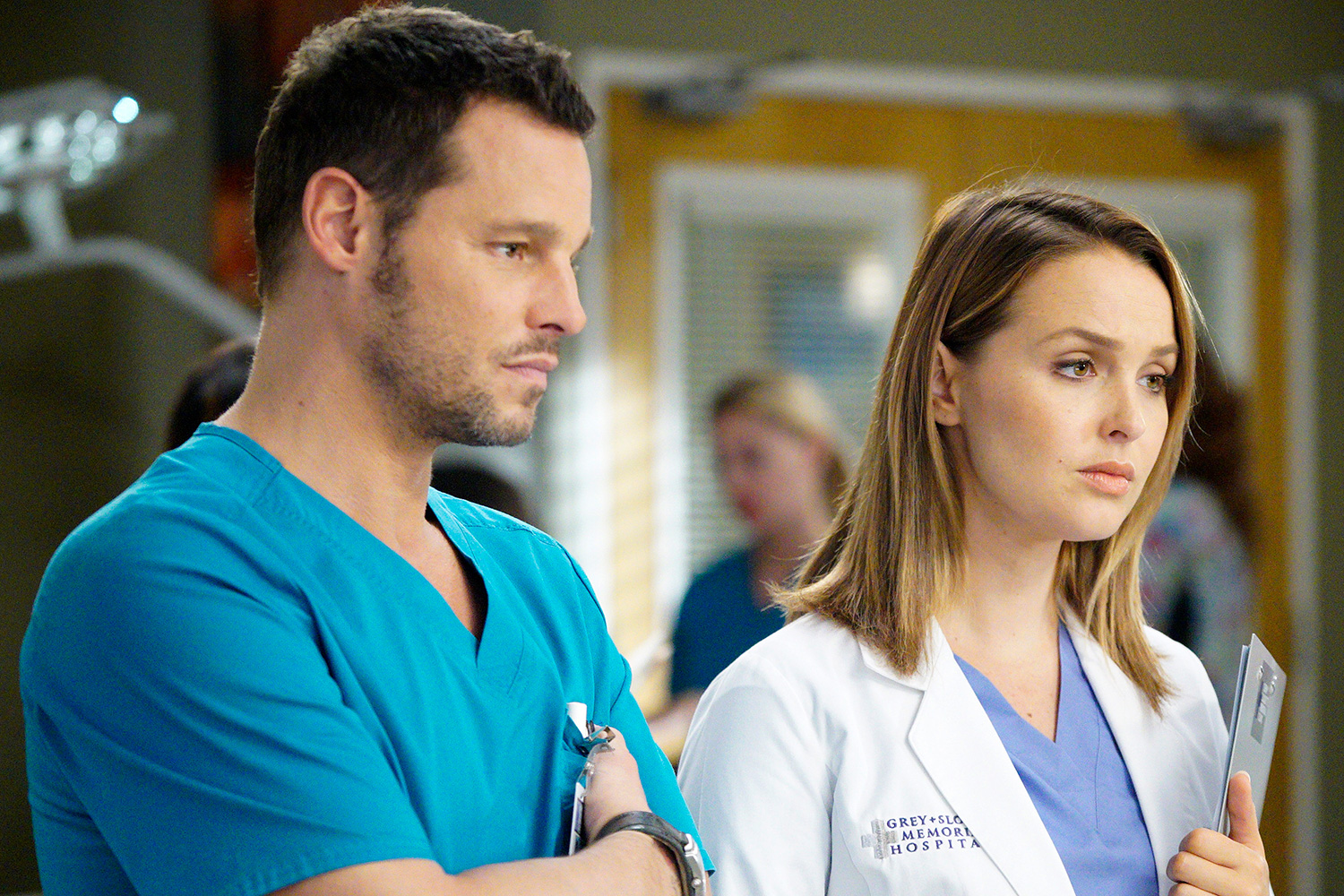 Justin Chambers Grey's Anatomy Camilla Luddington