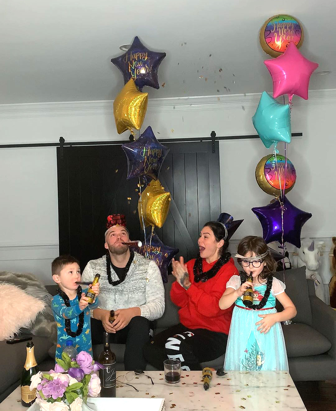 JWOWW and family