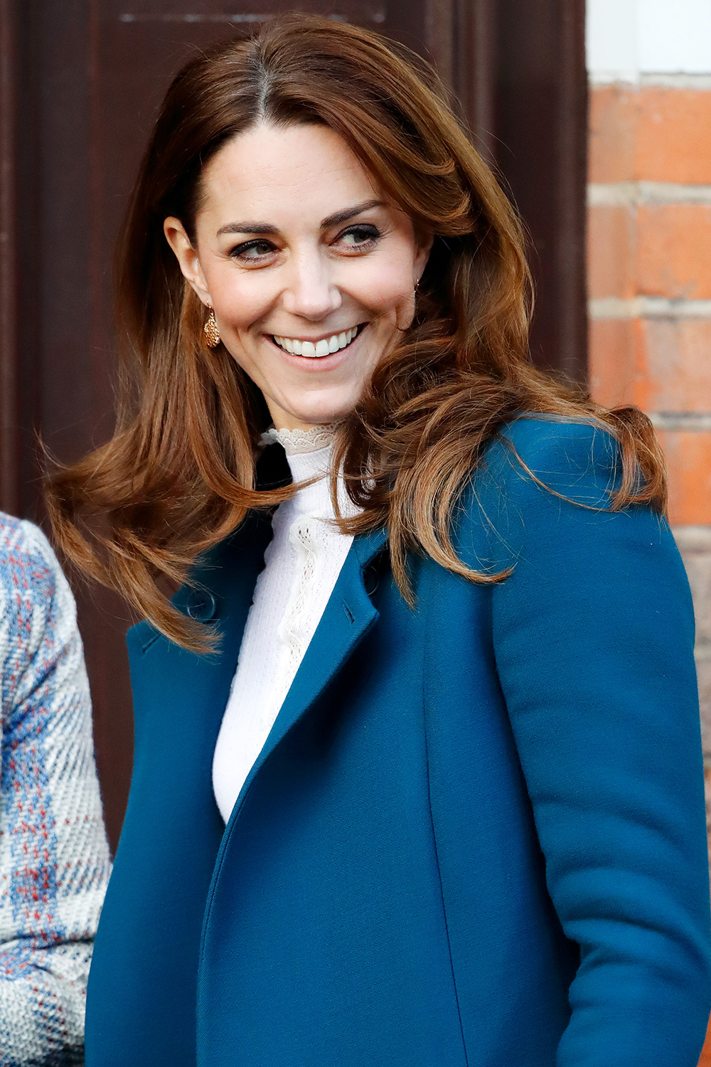 Catherine, Duchess of Cambridge visits LEYF (London Early Years Foundation) Stockwell Gardens Nursery & Pre-School on January 29, 2020 in London, England
