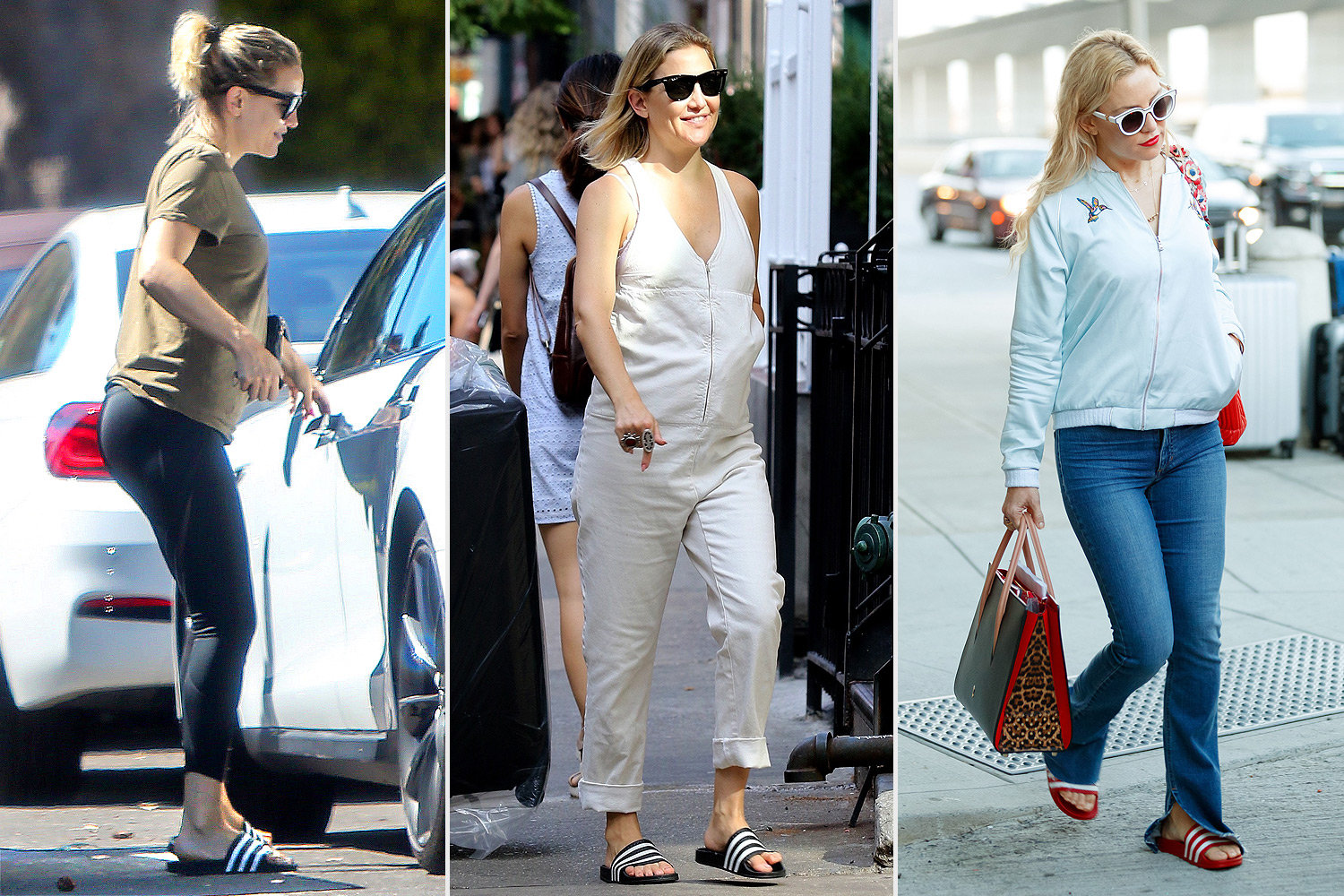 kate hudson can't stop wearing these unexpected shoes everywhere