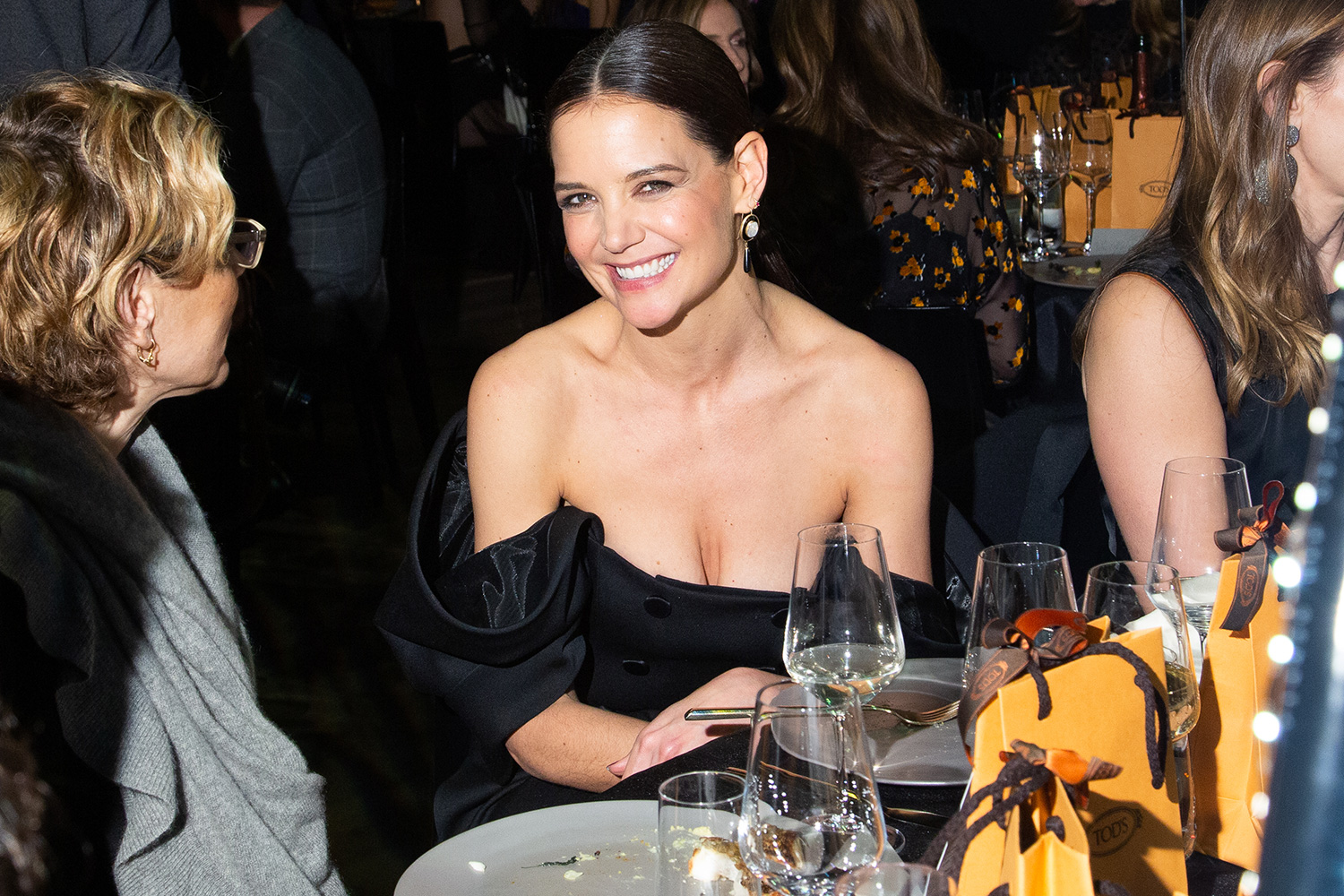 Katie Holmes attends the 2020 Whitney Art Party Whitney Museum of American Art, Manhattan, New York January 28, 2020