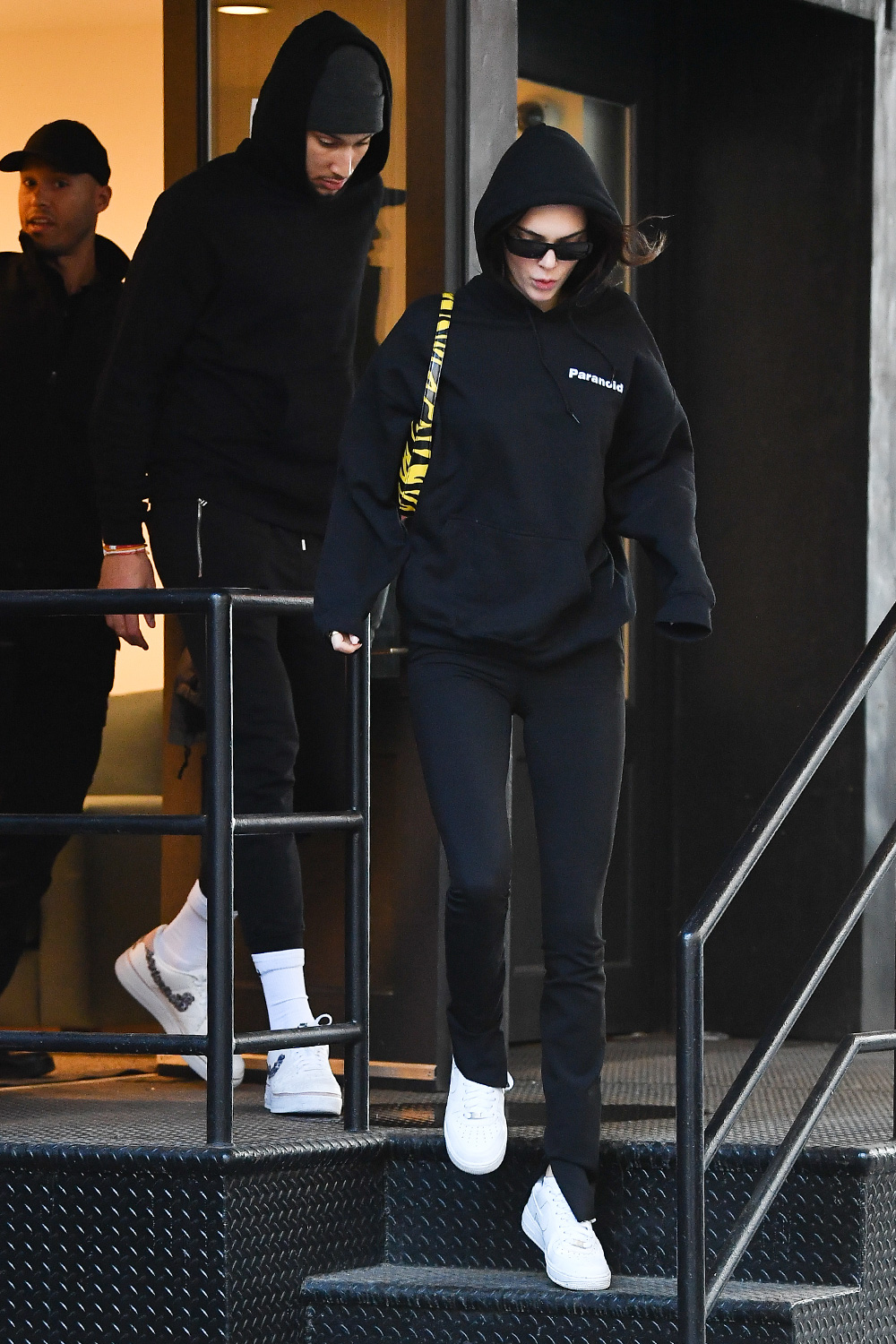Kendall Jenner and boyfriend Ben Simmons eat lunch at Bubby's in New York City