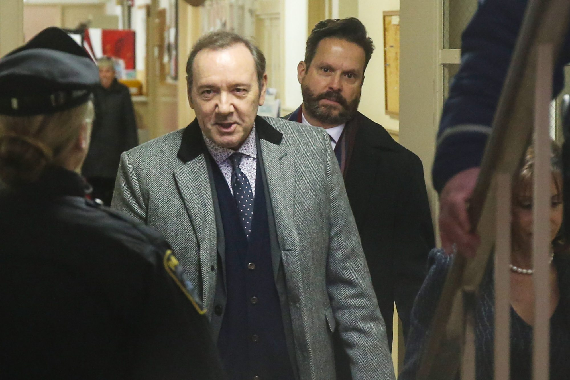Kevin Spacey Arraigned In Nantucket