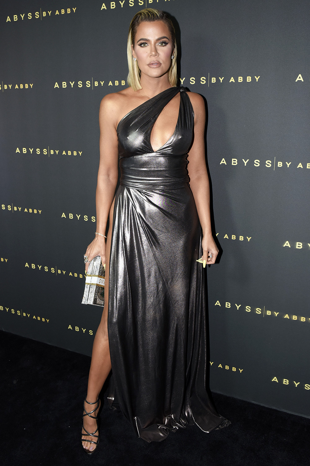 Khloe Kardashian attends Abyss By Abby - Arabian Nights Collection Launch Party at Casita Hollywood on January 21, 2020 in Los Angeles, California