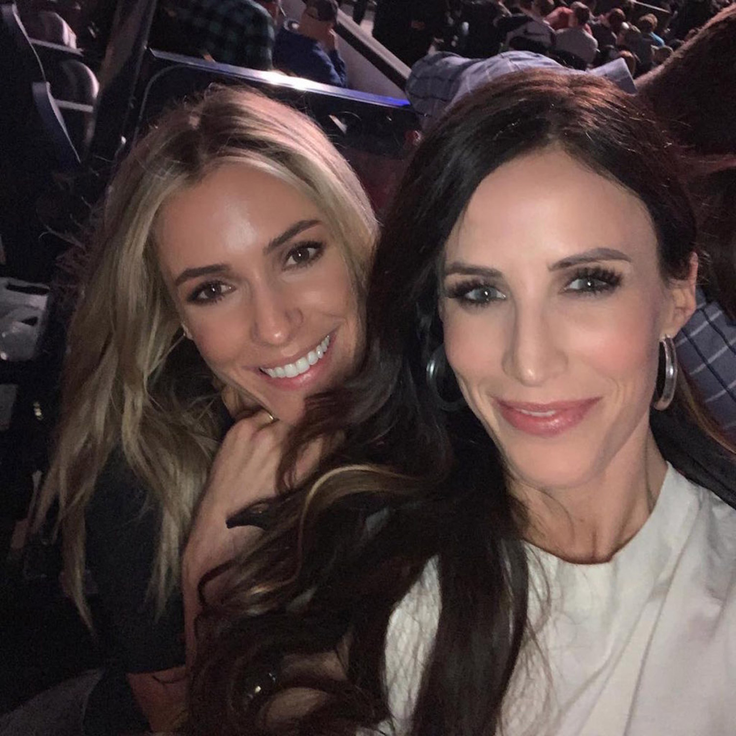 kristin Cavallari and Kelly Henderson