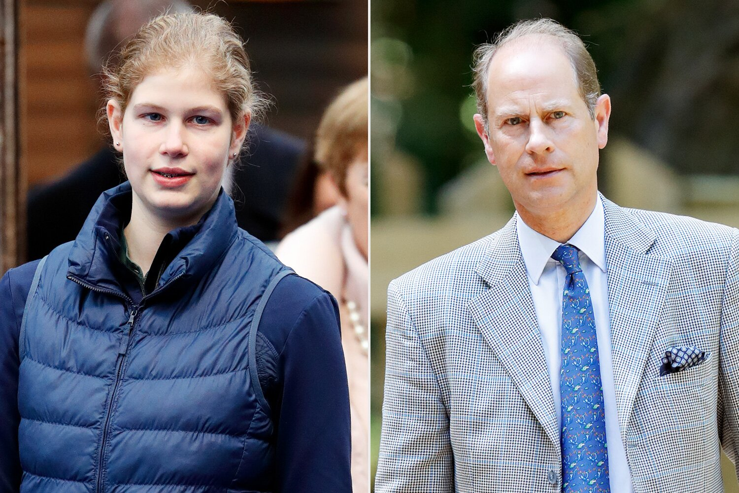 Lady Louise Is Spitting Image of Dad Prince Edward | PEOPLE.com