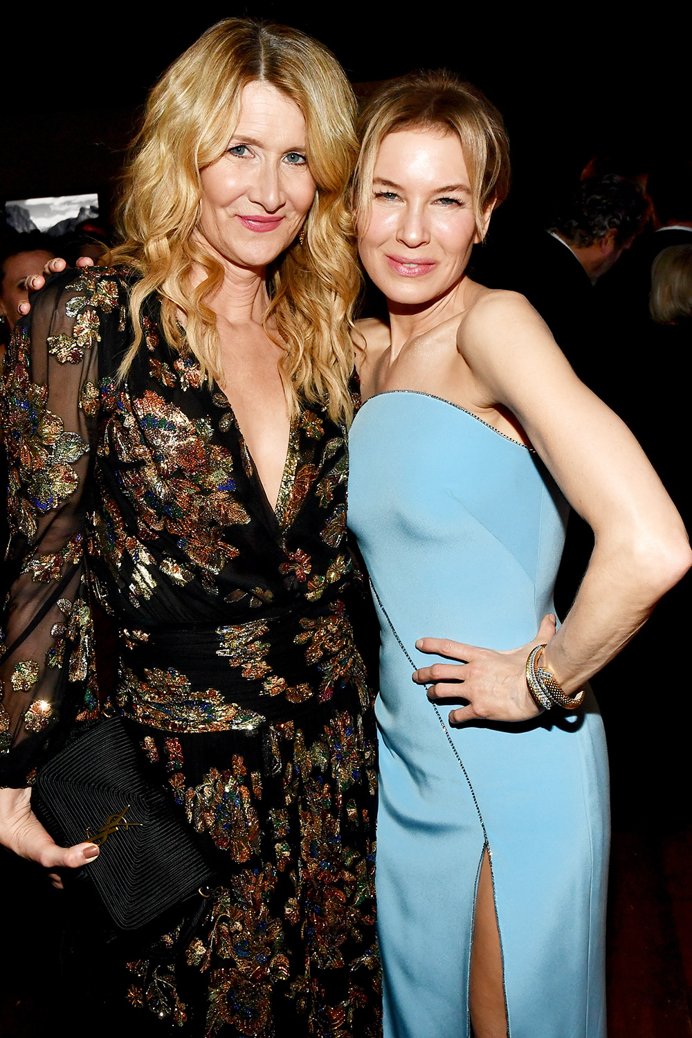 Laura Dern and Renee Zellweger HFPA Golden Globe Awards Screening and After Party, Inside, Los Angeles, USA - 05 Jan 2020