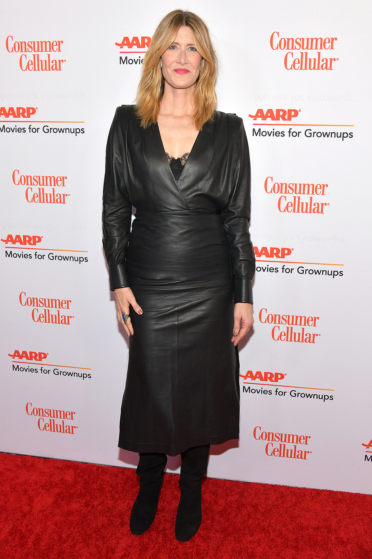 Laura Dern attends AARP The Magazine's 19th Annual Movies For Grownups Awards at Beverly Wilshire, A Four Seasons Hotel on January 11, 2020