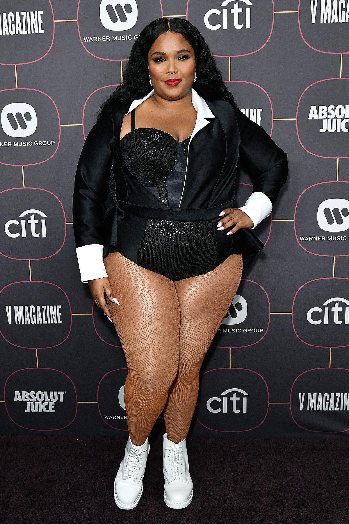 Lizzo Warner Music's Pre-Grammys Party, Arrivals, Hollywood Athletic Club, Los Angeles, USA - 23 Jan 2020