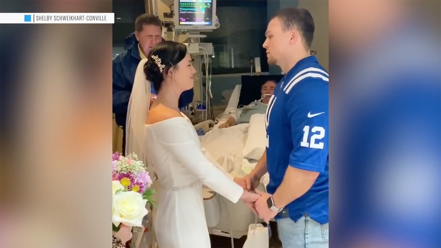 Dad Announces He's Ready to Be Taken Off Life Support After Daughter Marries Fiancé at Hospital