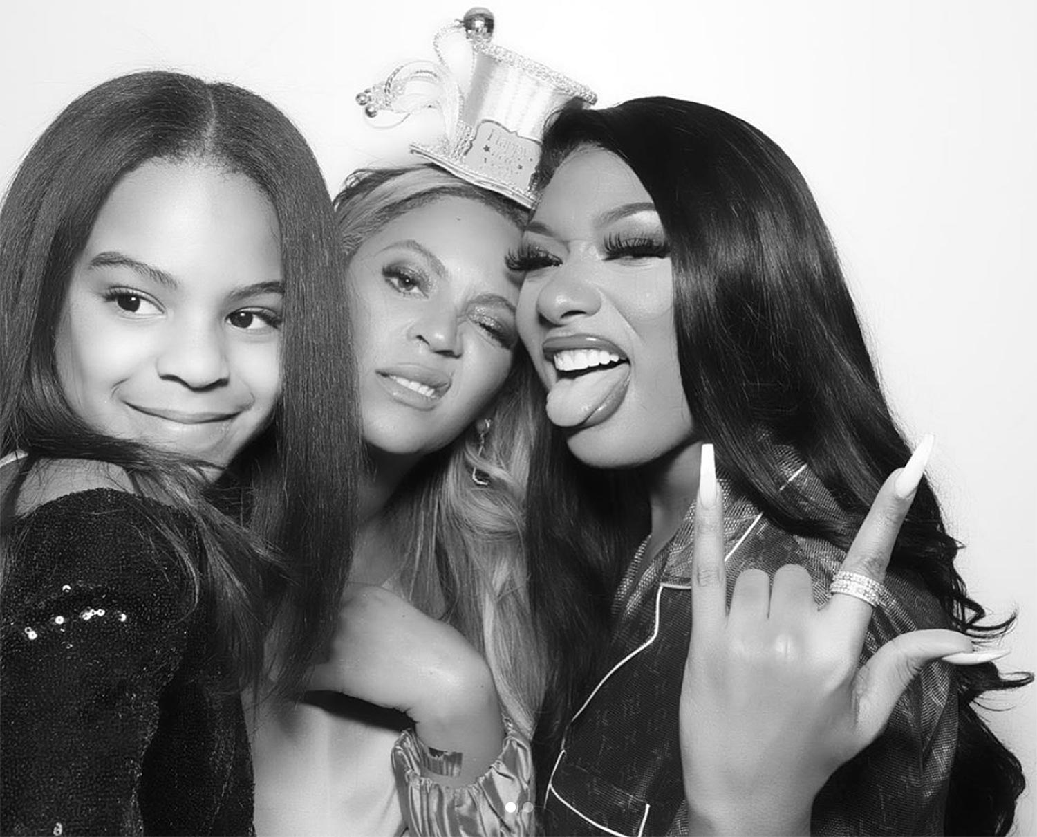 Megan Thee Stallion Beyonce New Year's Eve