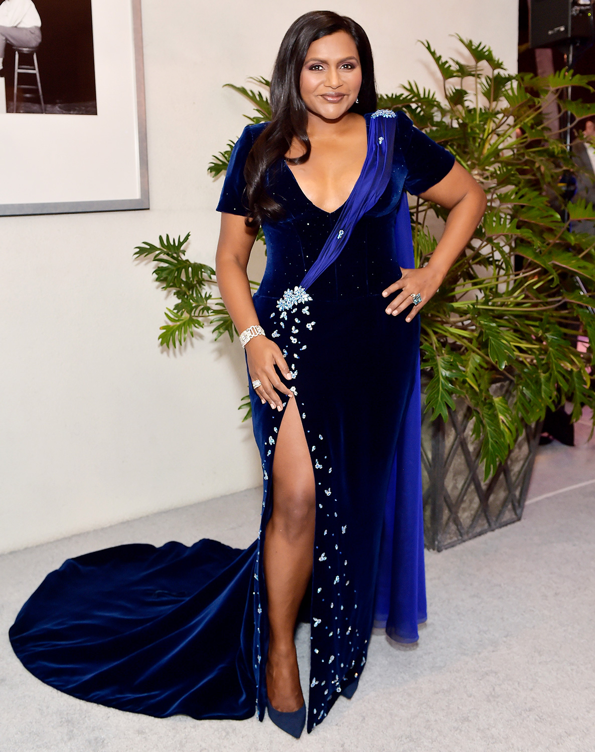Mindy Kaling attends the 22nd CDGA (Costume Designers Guild Awards) at The Beverly Hilton Hotel on January 28, 2020 in Beverly Hills, California