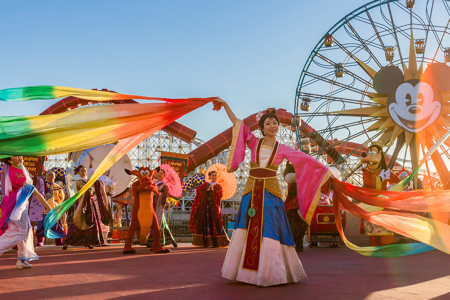 Disneyland Resort in California welcomes a year of good fortune with Lunar New Year celebrations at Disney California Adventure from Jan. 17 – Feb. 9, 2020