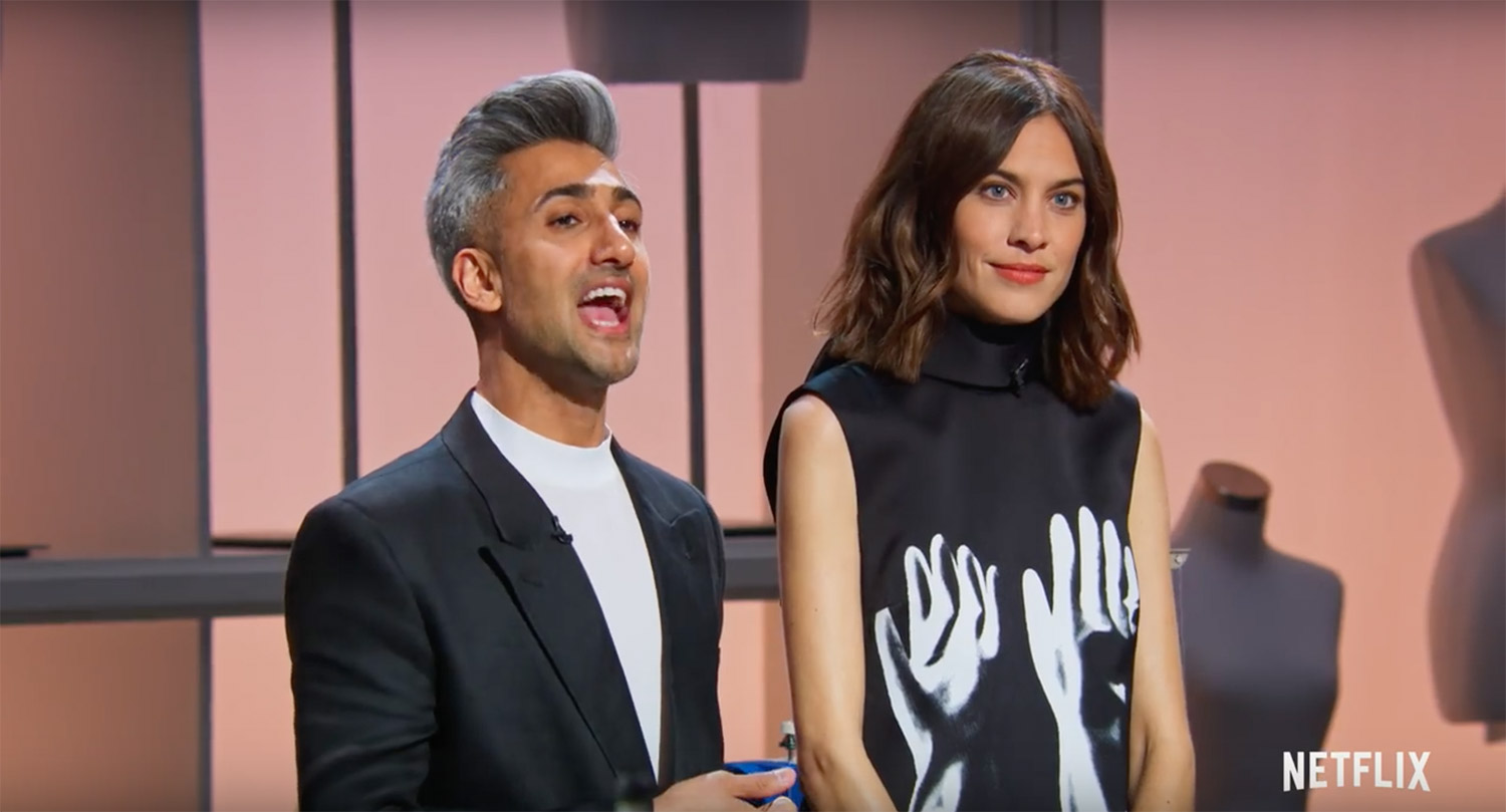 Get An Exclusive First Look At Netflix S Fashion Competition Show Starring Tan France And Alexa Chung People Com