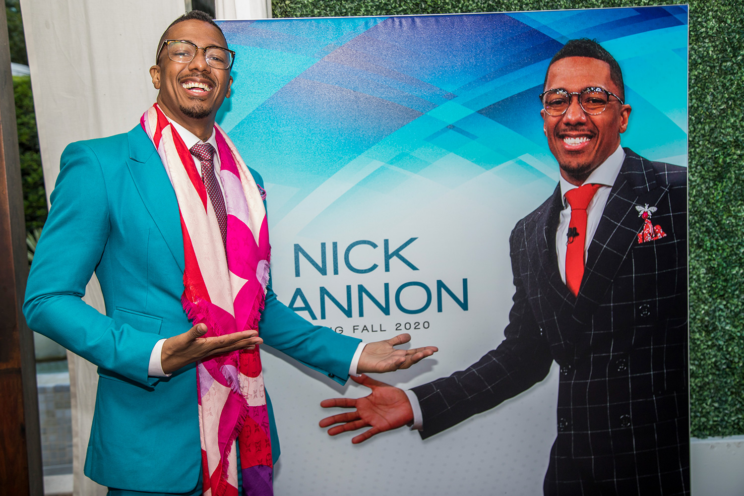 Nick Cannon at Dembar-Mercury and Fox TV Stations celebrate the launching of Nick Cannon`s Fall 2020 Talk Show