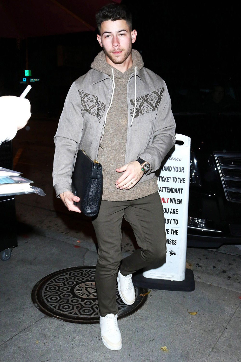 Nick Jonas out and about, Los Angeles, USA - 20 Jan 2020