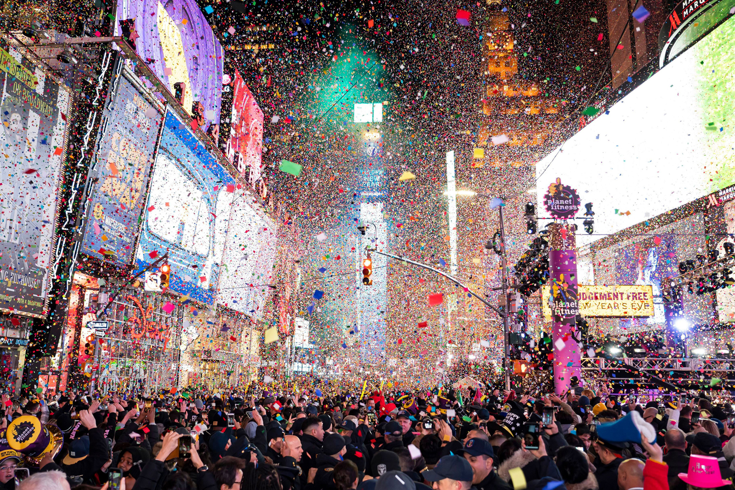 2020 New Year's Eve Times Square