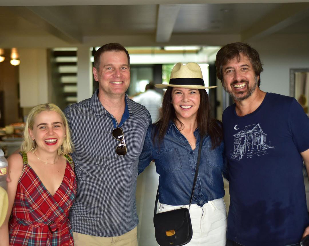 Parenthood Reunion - Mae Whitman, Peter Krause, Lauren Graham, and Ray Romano