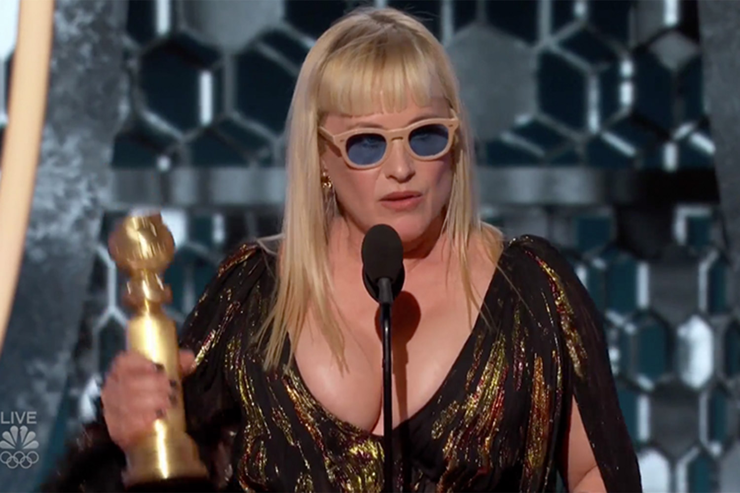 Patricia Arquette Begged 'of Us All' to Give Kids a 'Better World'