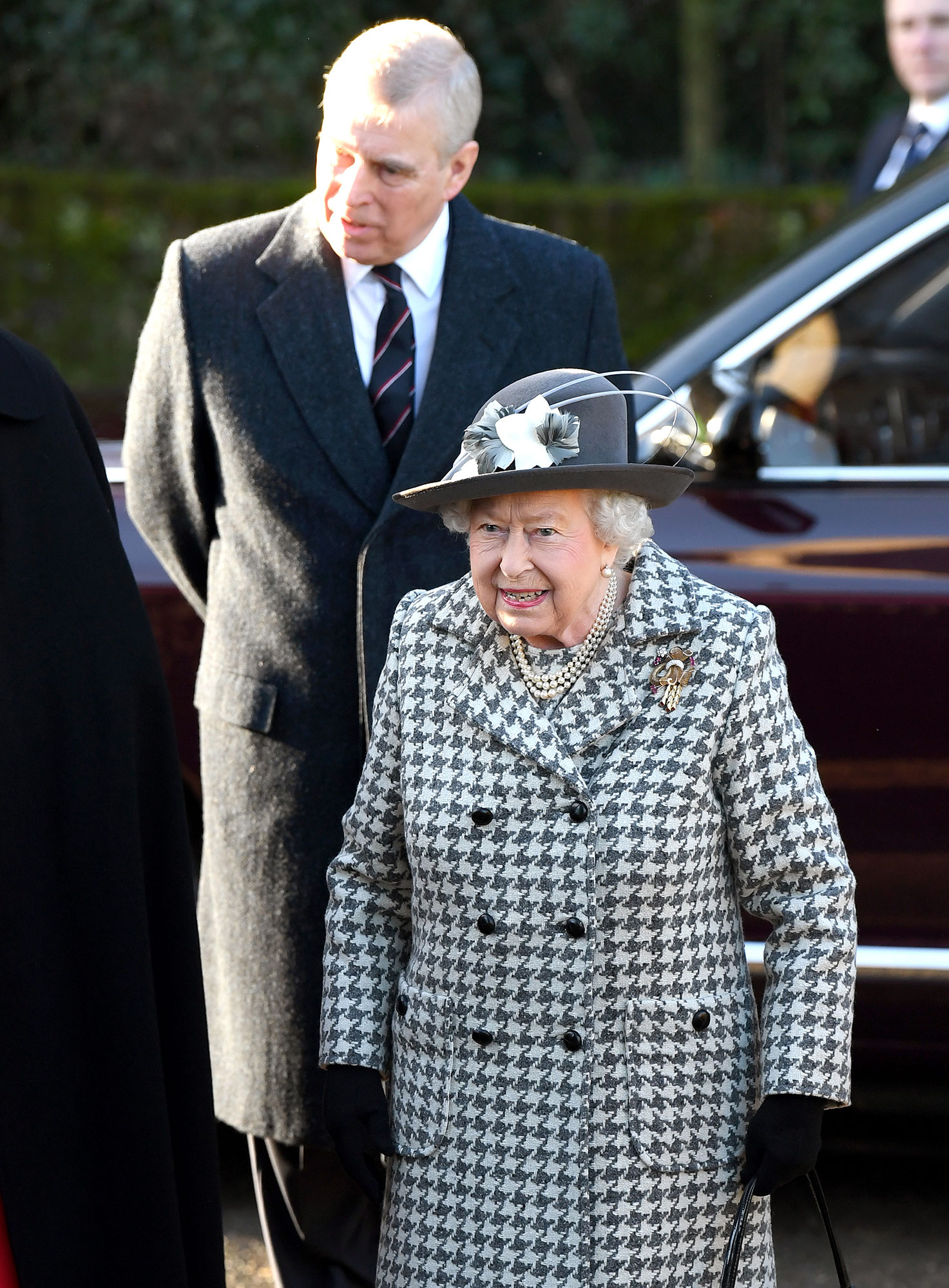 Queen Elizabeth II and Prince Andrew