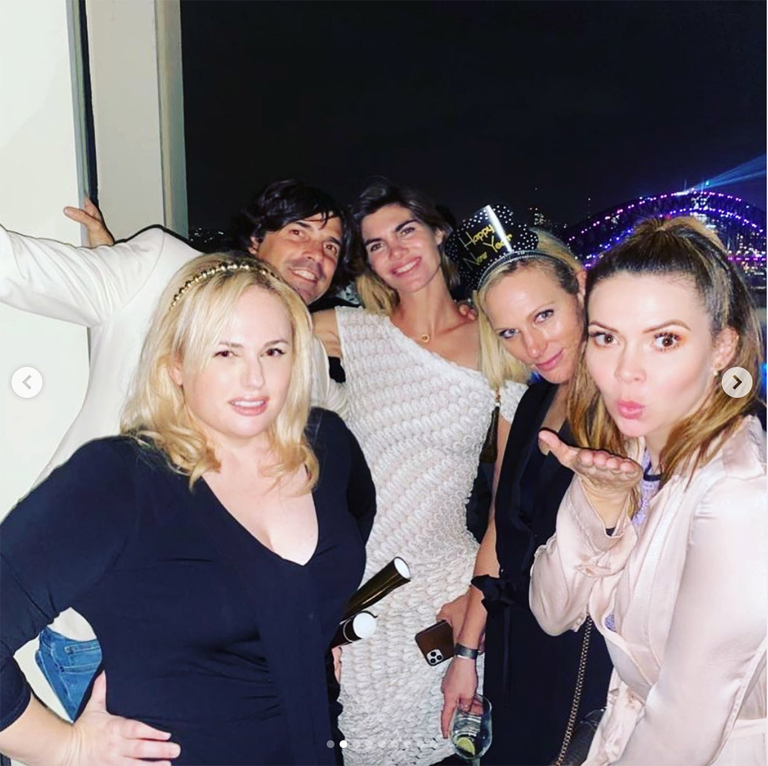 Rebel Wilson Partied with Royals for NYE