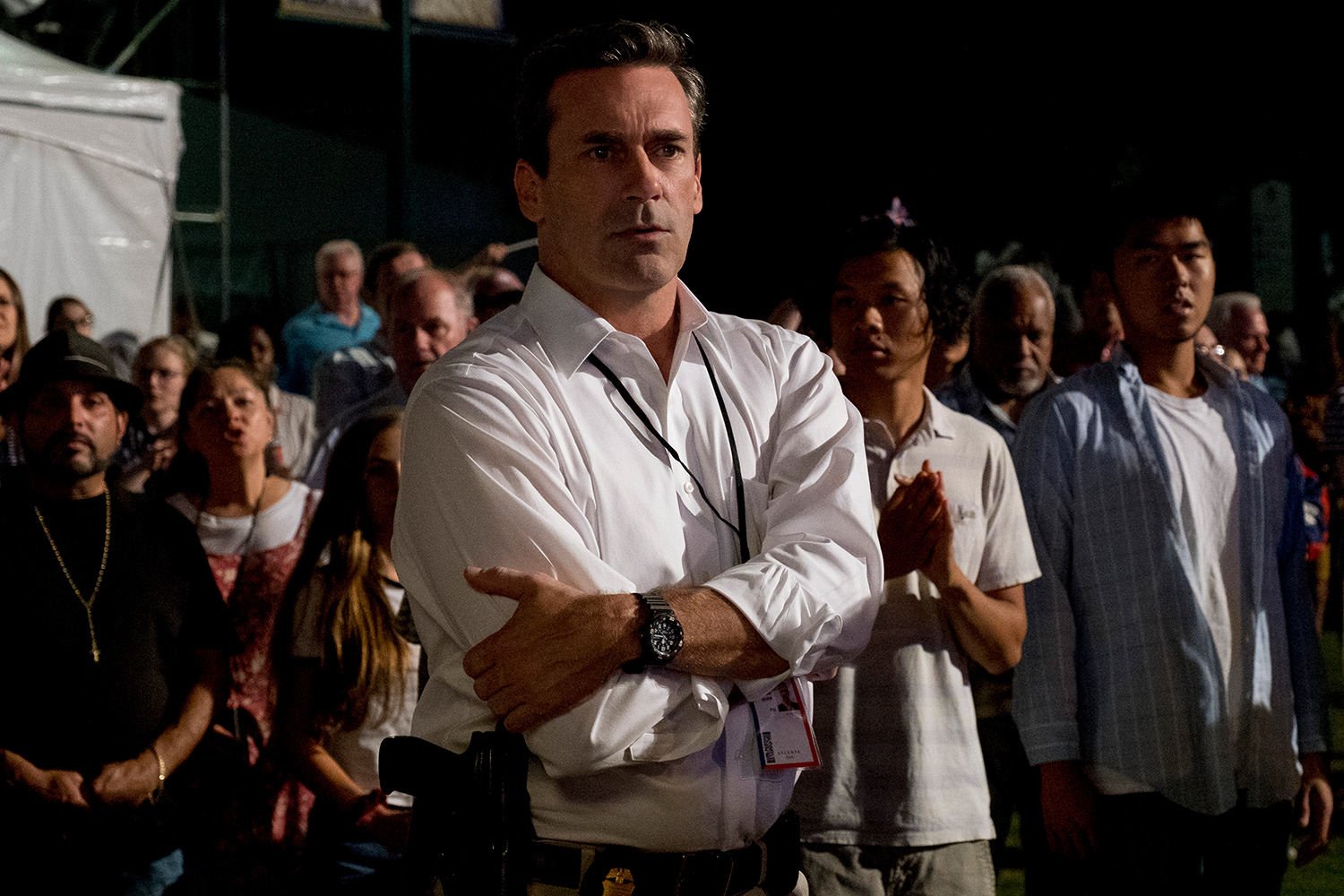 "JON HAMM as Tom Shaw in Warner Bros. Pictures' ""RICHARD JEWELL,"" a Warner Bros. Pictures release."