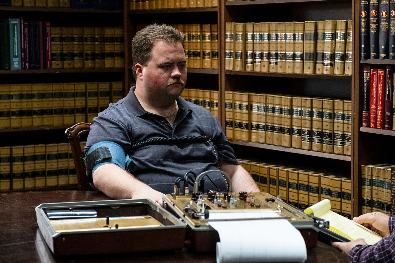 "PAUL WALTER HAUSER as Richard Jewell in Warner Bros. Pictures' ""RICHARD JEWELL,"" a Warner Bros. Pictures release."