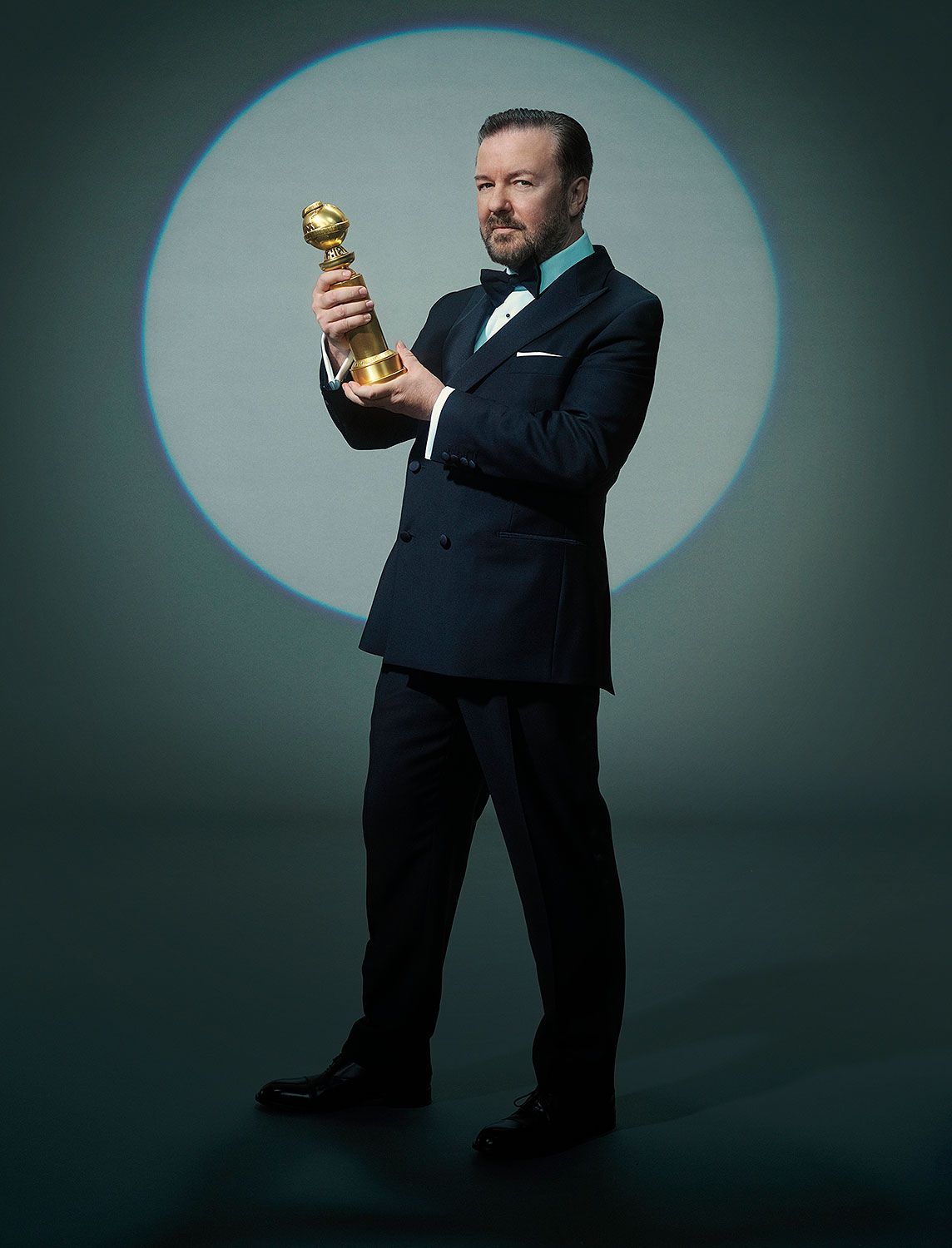 Ricky Gervais, host of GOLDEN GLOBE AWARDS
