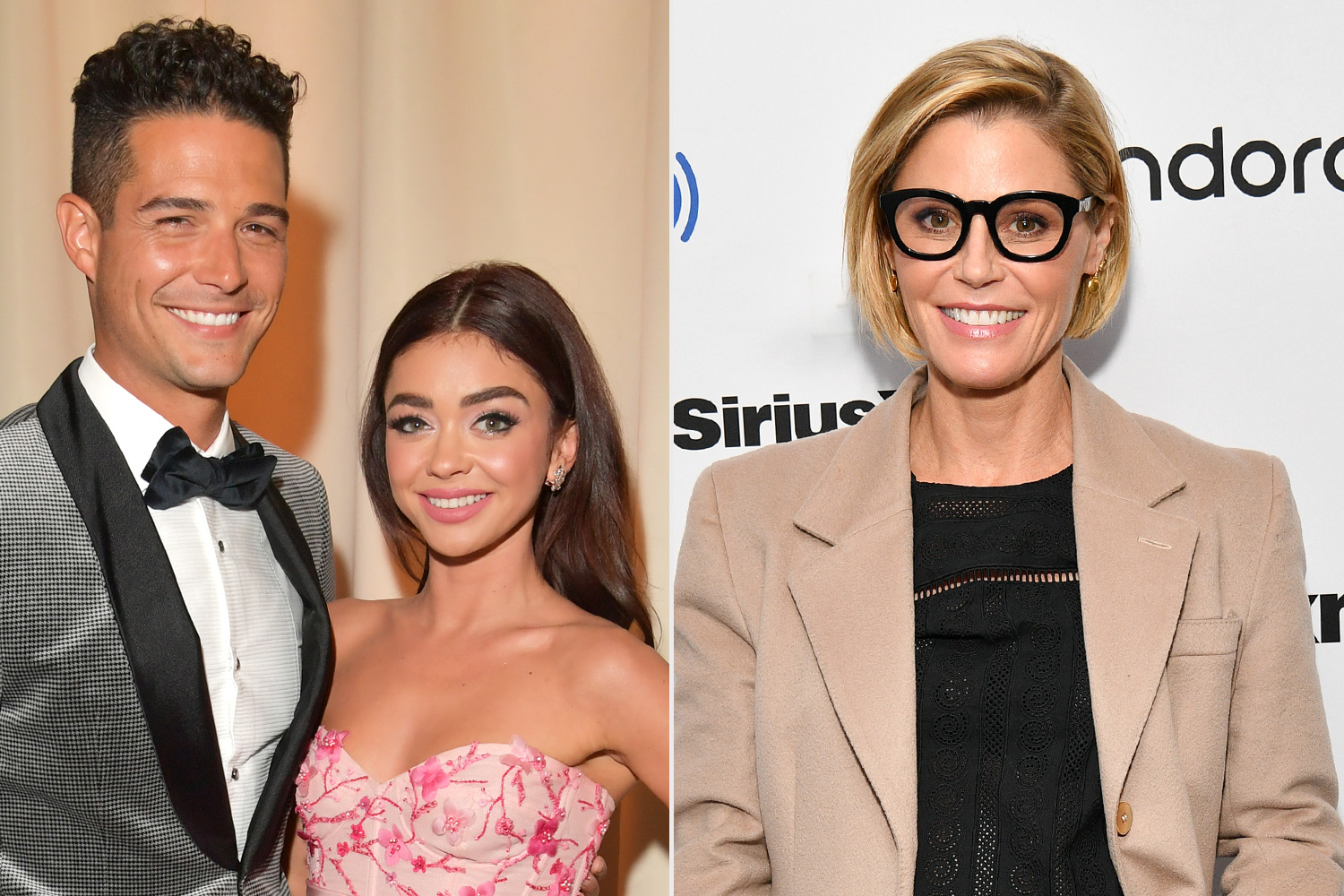 Wells Adams and Sarah Hyland Julie Bowen