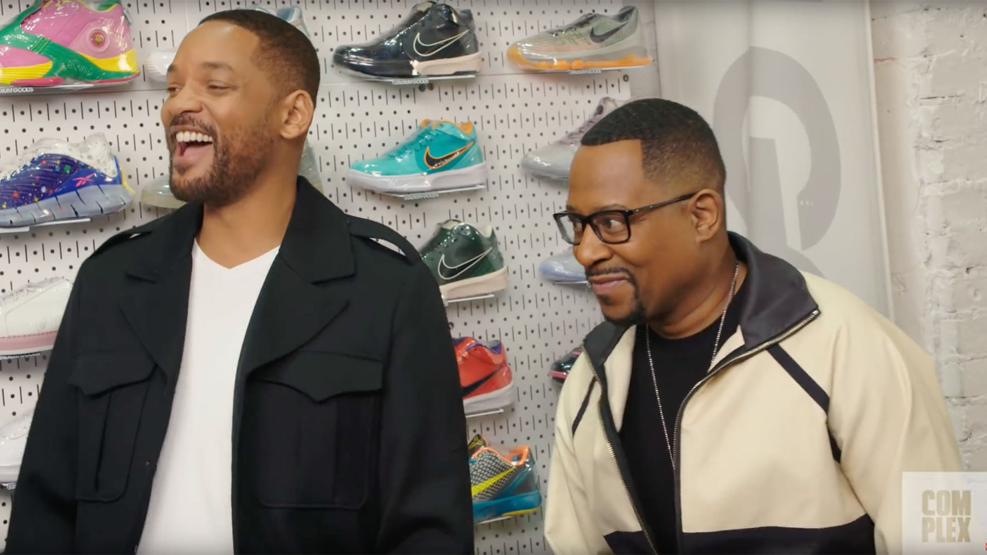 Sneaker Shopping with Will Smith and Martin Lawrence: Watch the Bad Boys Stars Spend $8,400!
