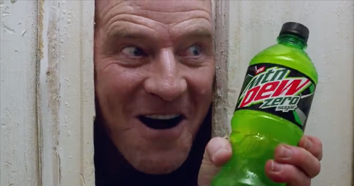 Bryan Cranston Mountain Dew Super Bowl Ad