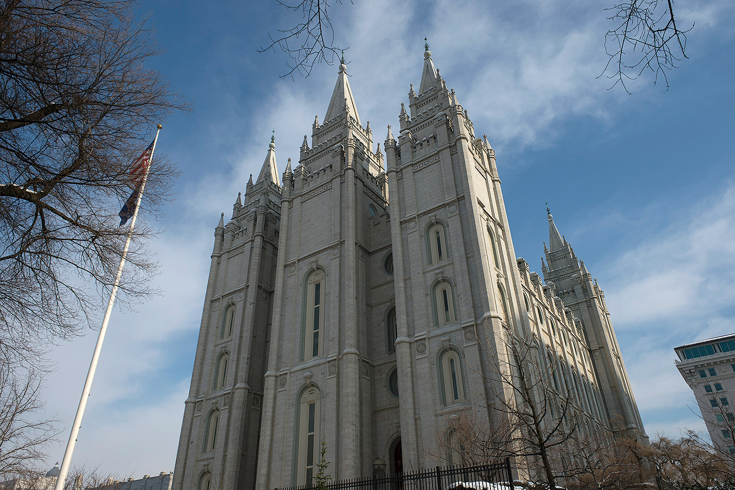 Salt Lake Temple on Historic Temple Square