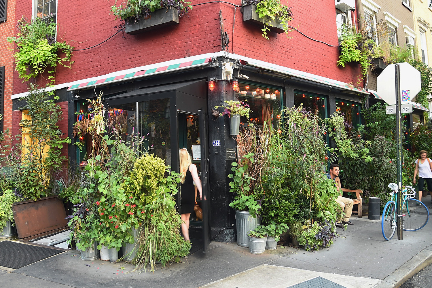 The Spotted Pig on September 16, 2015 in New York City