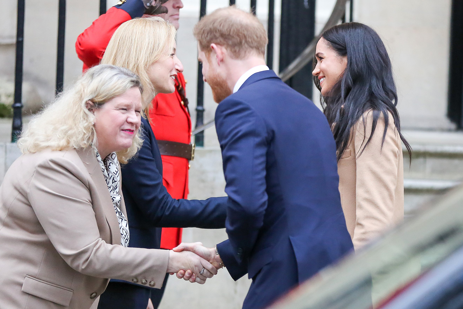 Prince Harry, Duke of Sussex and Meghan, Duchess of Sussex arrive at Canada House in London, United Kingdom on January 7, 2020