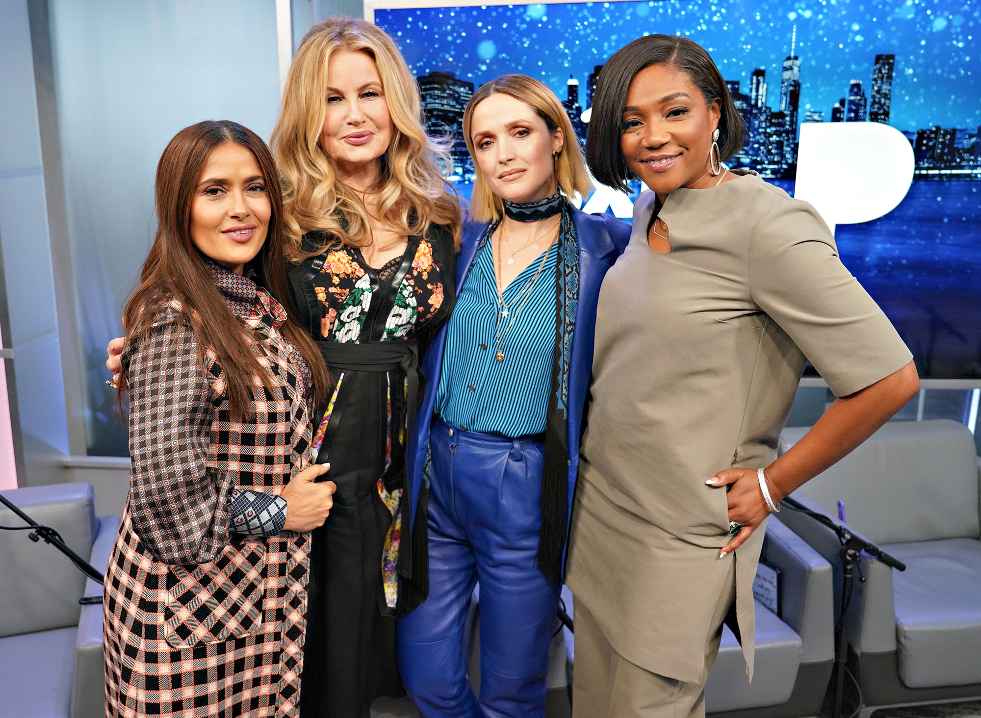 Salma Hayek, Jennifer Coolidge, Rose Byrne and Tiffany Haddish