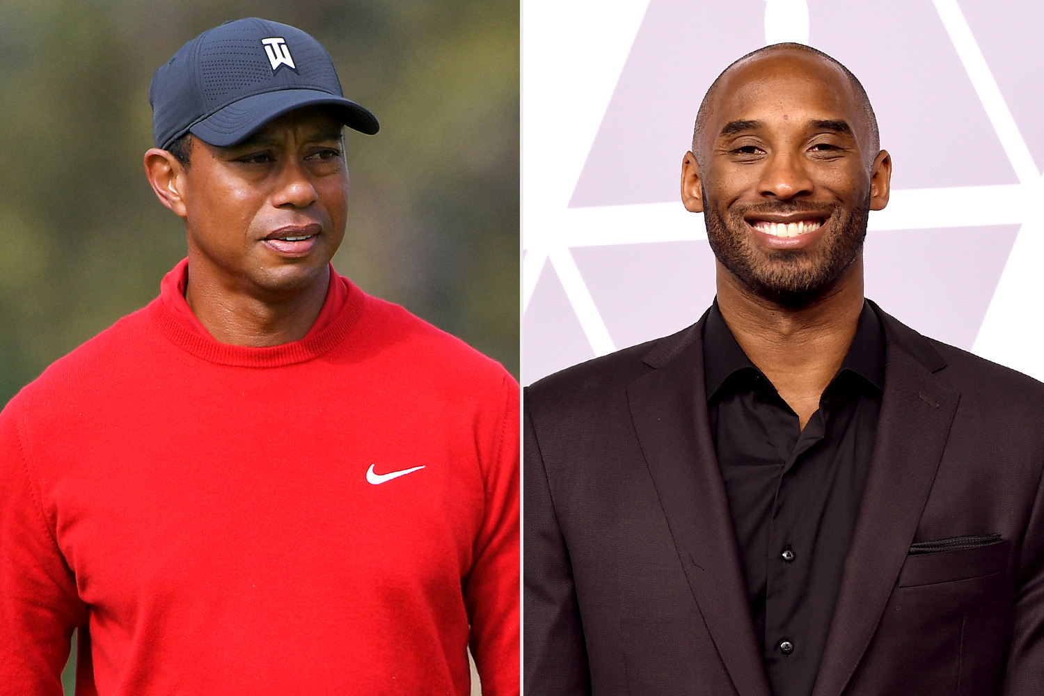 Tiger Woods and Kobe Bryant
