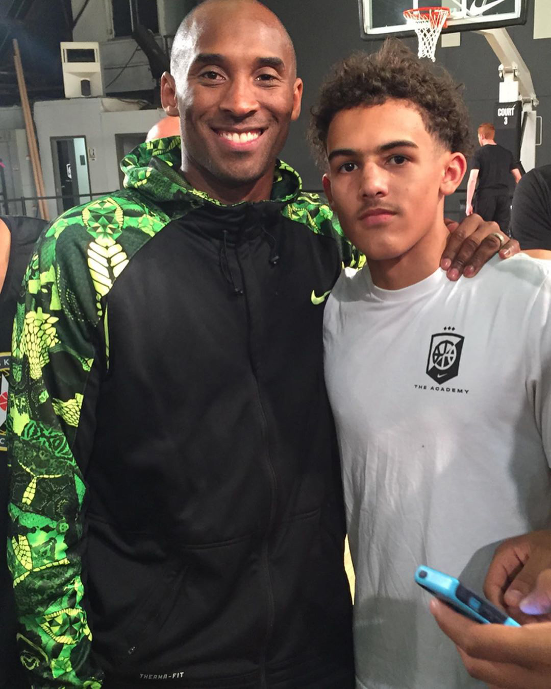Kobe Bryant and Trae Young
